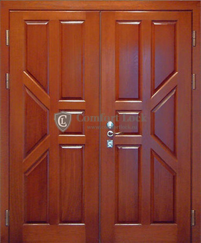 дверь стальная широкая