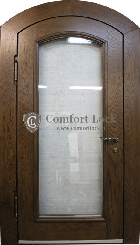 производство входных дверей со стеклом в верее